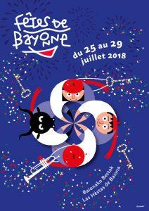 Affiche des Fêtes de Bayonne - (c) Ville de Bayonne - Gwladys ESNAULT